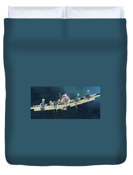 After The Mission Duvet Cover