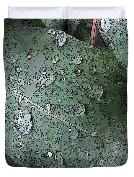 After The Rain 4 Duvet Cover by Tim Allen