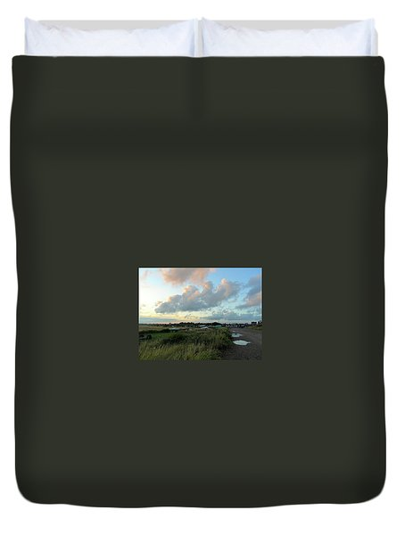 Duvet Cover featuring the photograph After The Rain by Anne Kotan
