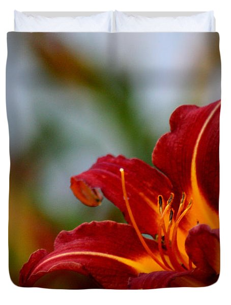 After The Rain Came The Flowers  Duvet Cover