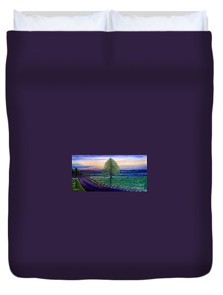 After The Rain Comes The Joy Duvet Cover