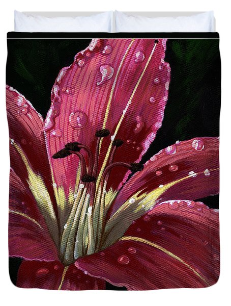 After The Rain - Lily Duvet Cover