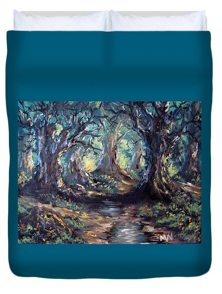 After The Rain Duvet Cover by Megan Walsh