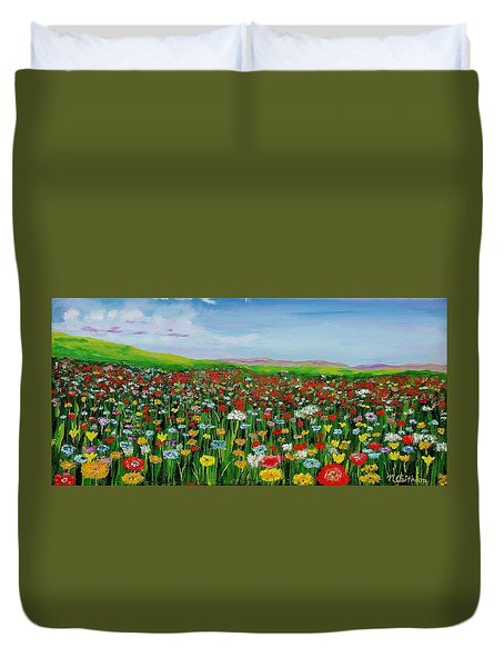 After The Rain Duvet Cover by Mike Caitham