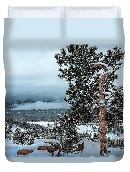 After The Snow - 0629 Duvet Cover