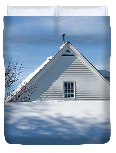 After The Snowfall Duvet Cover