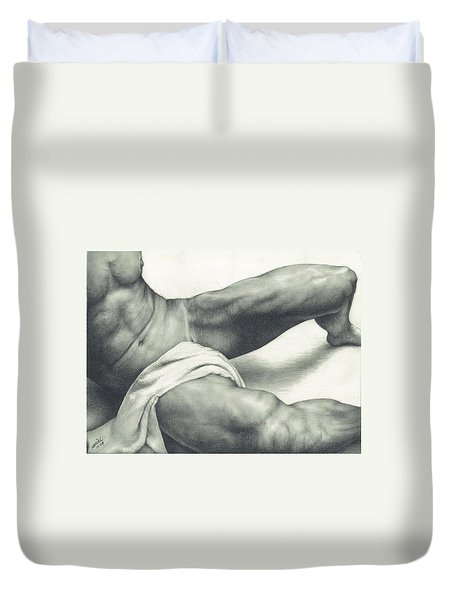 After The Steam Duvet Cover by Maciel Cantelmo