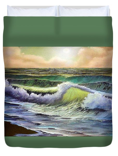 After The Storm Duvet Cover