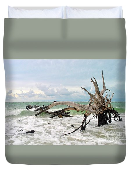 After The Storm Duvet Cover by Margie Amberge
