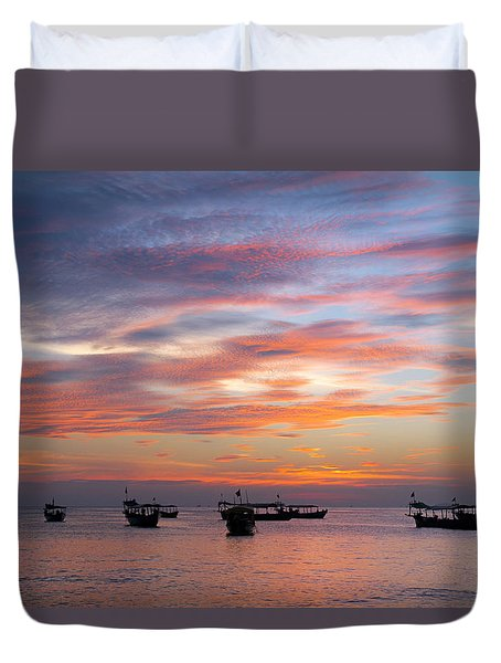 After The Sun Has Set Duvet Cover
