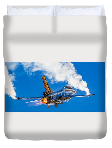Afterburn Duvet Cover by Ian Schofield