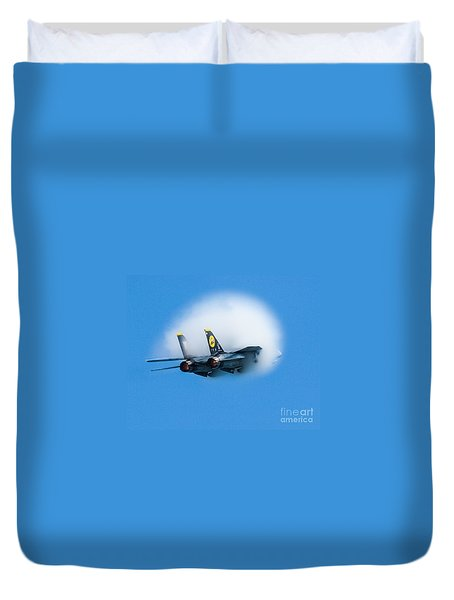 Afterburners Ablaze Duvet Cover
