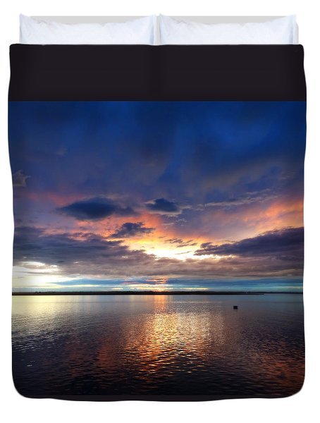 Afterglow Duvet Cover