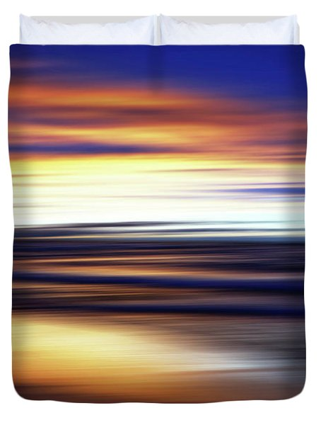 Afterglow Duvet Cover by Kathi Mirto