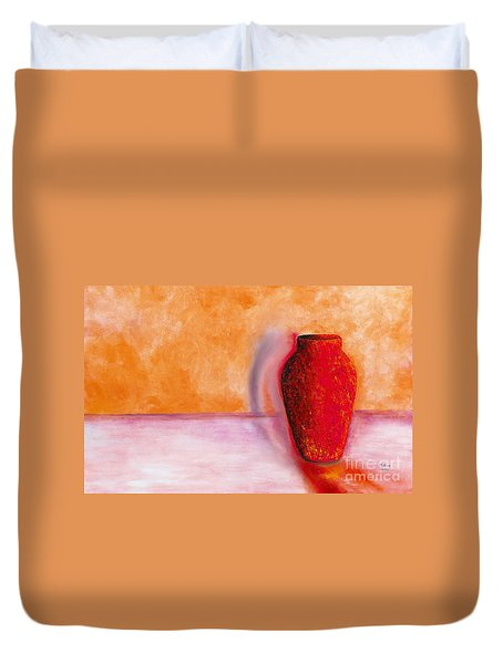Afterglow Duvet Cover by Marlene Book