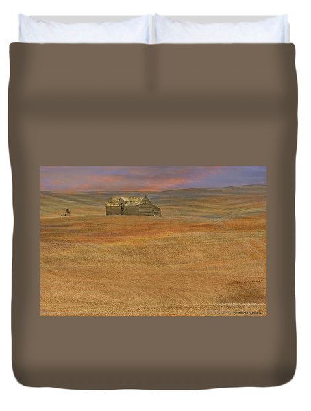Afterglow On The Palouse Duvet Cover
