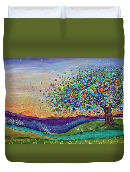 Afterglow - This Beautiful Life Duvet Cover
