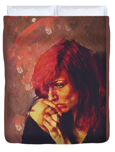 Afterimage Duvet Cover