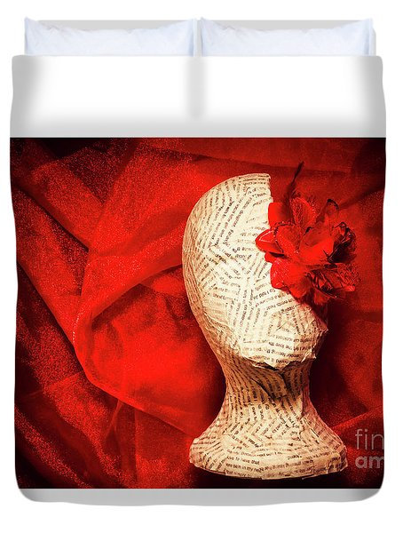 Afterlife Chronicles Duvet Cover