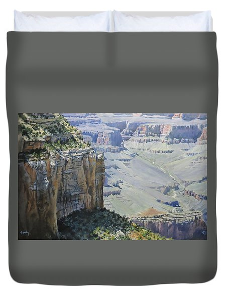Afternoon At The Canyon Duvet Cover