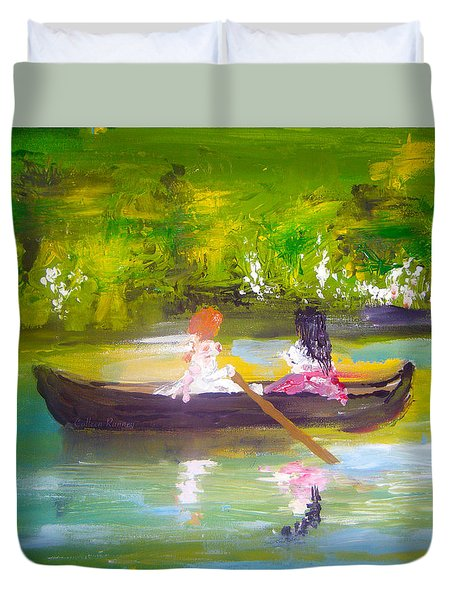 Afternoon By Colleen Ranney Duvet Cover