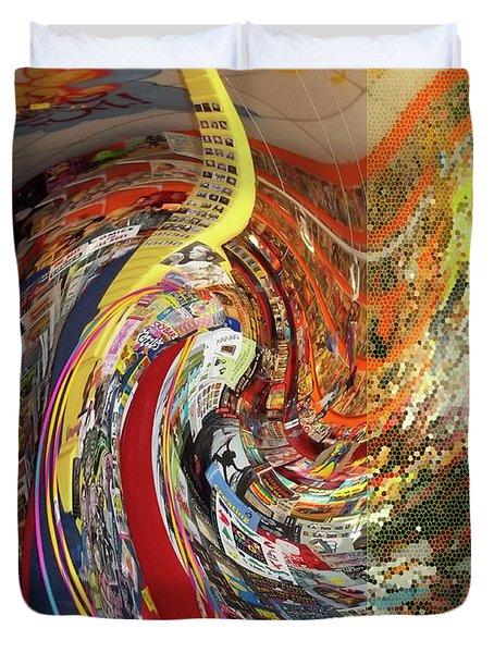 Afternoon Hallucination Duvet Cover