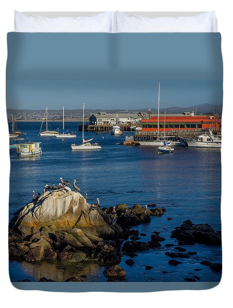 Afternoon Hangout Duvet Cover by Derek Dean