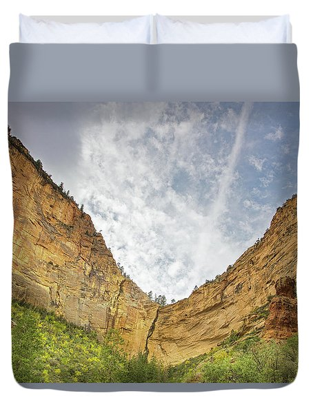 Afternoon In Boynton Canyon Duvet Cover