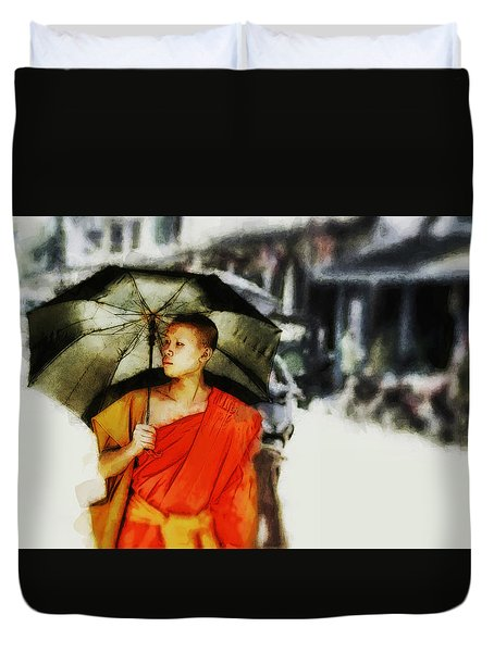 Afternoon In Luang Prabang Duvet Cover