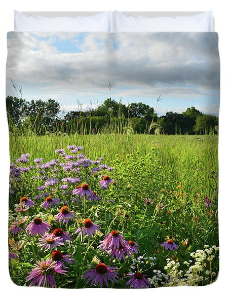Afternoon In Moraine Hills State Park Duvet Cover
