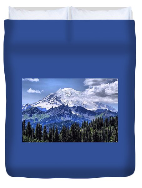 Afternoon Majesty Duvet Cover by Lynn Hopwood