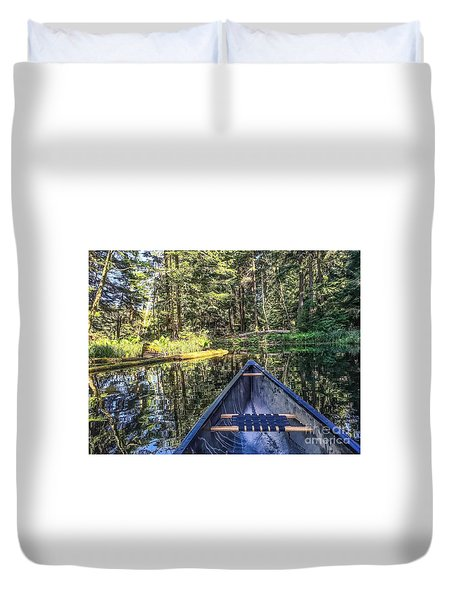 Afternoon Paddle Duvet Cover