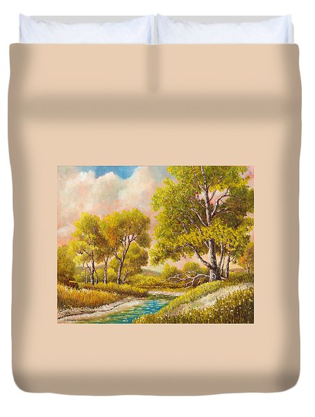 Afternoon Shade Duvet Cover
