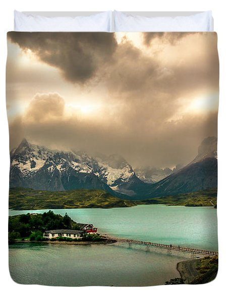 Afternoon Storm Duvet Cover by Andrew Matwijec