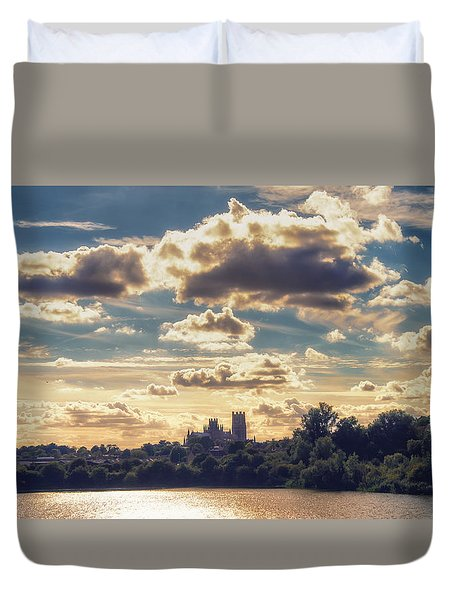 Duvet Cover featuring the photograph Afternoon Sun by James Billings
