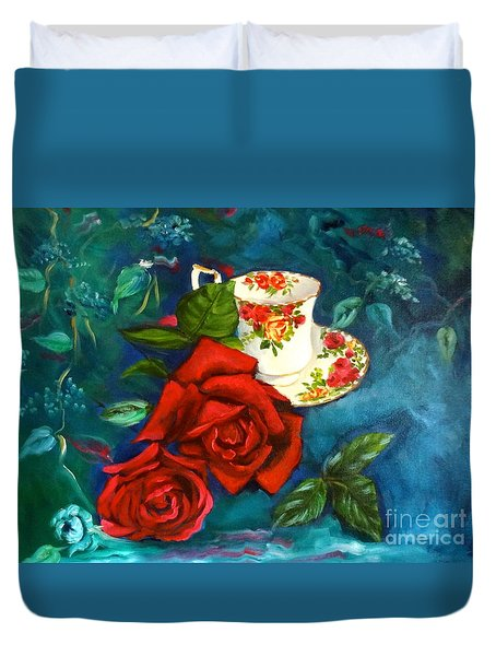 Afternoon Tea Duvet Cover