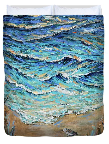 Afternoon Tide Duvet Cover