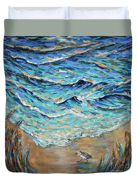 Afternoon Tide Duvet Cover