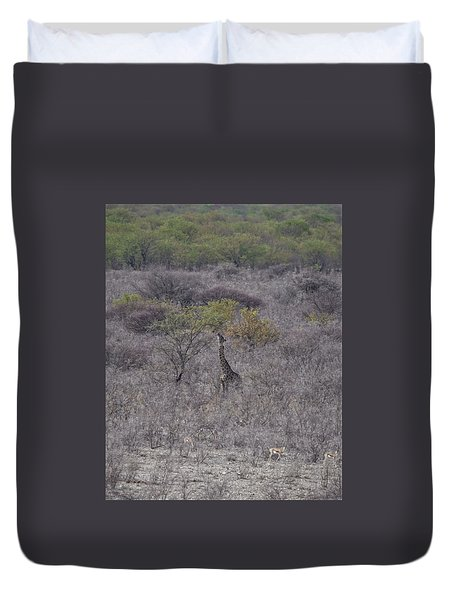 Afternoon Treat Duvet Cover by Ernie Echols