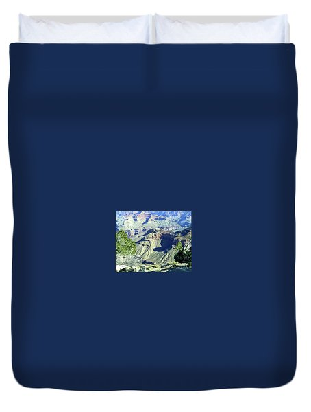 Afternoon View Grand Canyon Duvet Cover