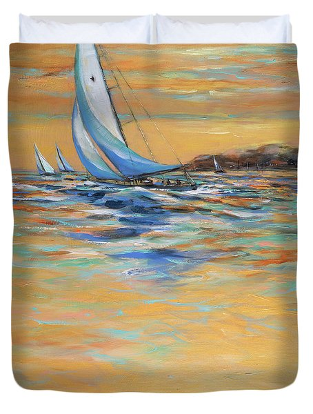 Afternoon Winds Duvet Cover