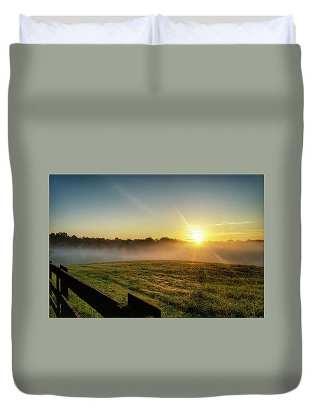 Afton Va Sunrise Duvet Cover
