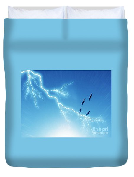 Against All Odds Duvet Cover