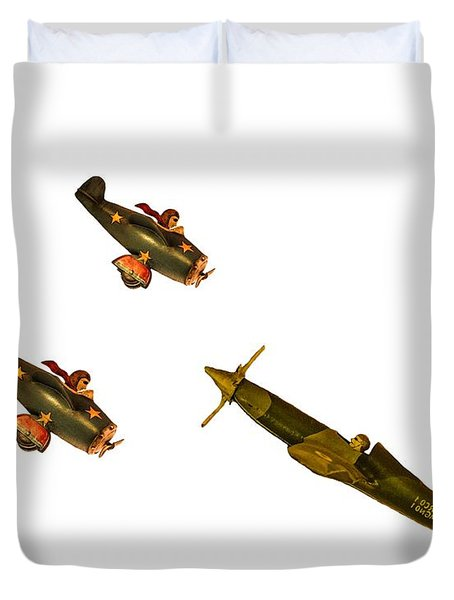 Against The Odds Duvet Cover