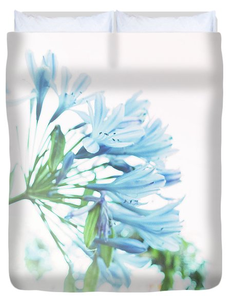 Duvet Cover featuring the photograph Agapanthus 1 by Cindy Garber Iverson