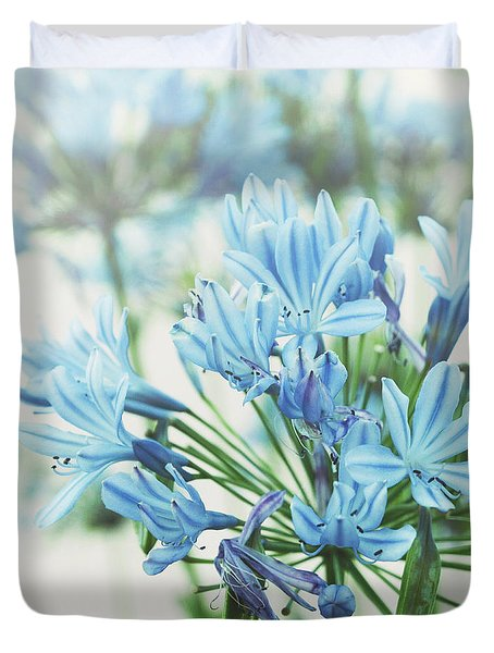 Duvet Cover featuring the photograph Agapanthus 2 by Cindy Garber Iverson