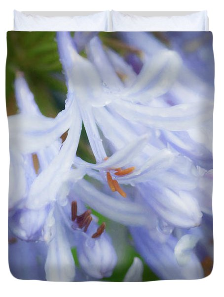 Agapanthus Lily Of The Nile 001 Duvet Cover