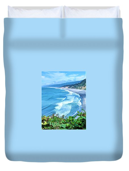 Agate Beach Duvet Cover