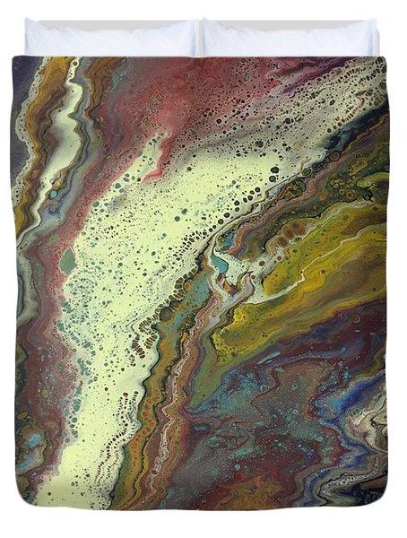 Agate Waterfall Duvet Cover