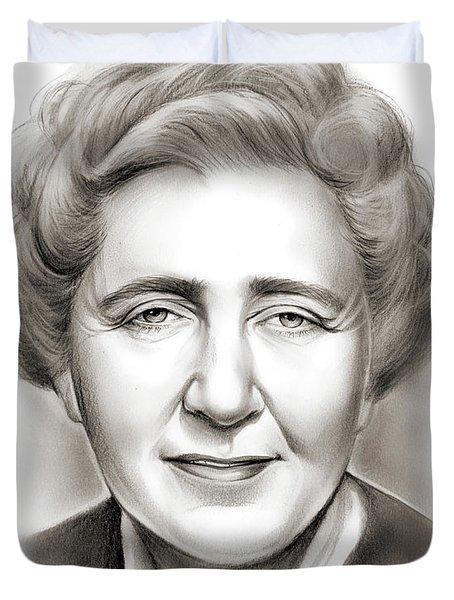 Agatha Christie Duvet Cover
